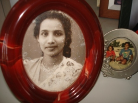 My mother, Gladys Morais, for whom snail mail was the medium of choice as a young bride, colonial subject, citizen in a new land, distant daughter, wise parent and contant counselor to many.