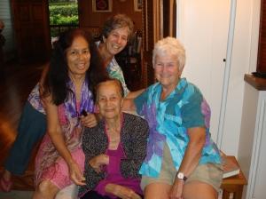 Pat, Karen, Dorrie, Sara