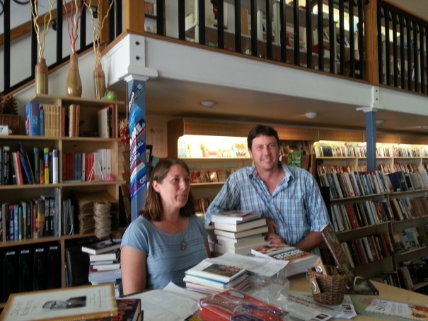 Bookshop owners