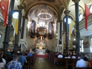 Inside St Stanislaus