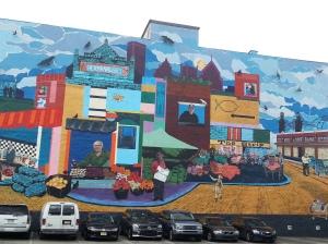 Pitt Strip Mural
