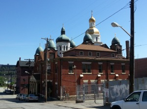 Ukraine Gold domes