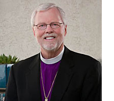 The Rev. Murray D. Finck, Bishop of the Pacifica Synod, Evangelical Lutheran Church in America